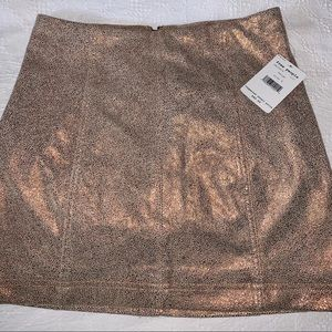 Free People NWT Mini Skirt